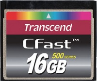 Transcend CFast  16GB Carte