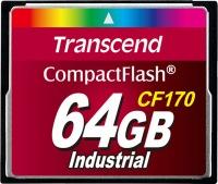 Transcend CF170 Compact Flash 64GB Carte