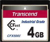Transcend Industrial Temp CFast 4GB Carte