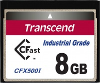 Transcend Industrial Temp CFast 8GB Carte