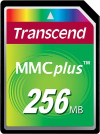 Transcend MultiMedia Carte Plus 256MB Carte