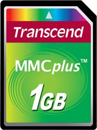Transcend MultiMedia Carte Plus 1GB Carte