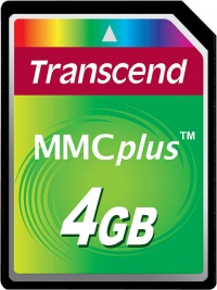 Transcend MultiMedia Carte Plus 4GB Carte